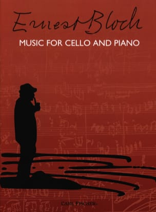 Ernest Bloch - Music for Cello and Piano - Sheet Music - di-arezzo.com
