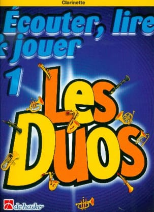 DE HASKE - Play Play and Play - The Duos Volume 1 - 2 Clarinets - Sheet Music - di-arezzo.co.uk
