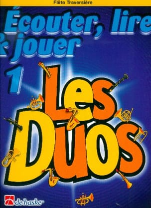 DE HASKE - Play Play and Play - The Duos Volume 1 - 2 Flutes - Sheet Music - di-arezzo.co.uk