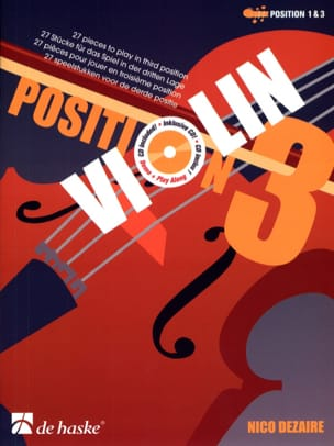 Nico Dezaire - Position 3 - Violon - Partition - di-arezzo.fr