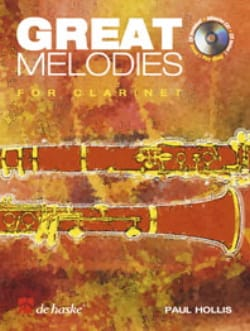 Great melodies for Clarinet - Paul Hollis - laflutedepan.com