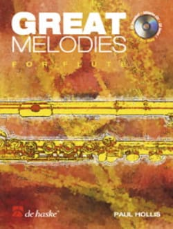Paul Hollis - Great melodies for Flute - Partition - di-arezzo.fr