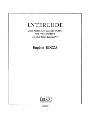Eugène Bozza - Interlude - Sheet Music - di-arezzo.com