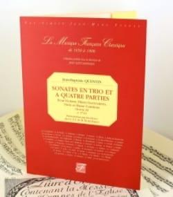 Jean-Baptiste Quentin - Sonates en trio et à 4 parties - Oeuvre 11 - Partition - di-arezzo.fr