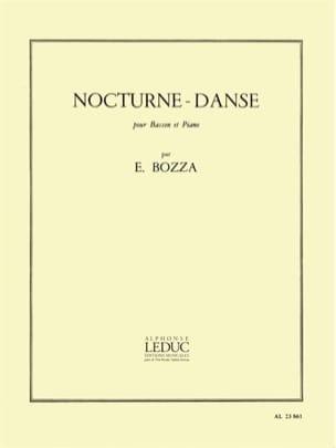 Eugène Bozza - Noche-Dance - Partitura - di-arezzo.es