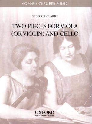 Rebecca Clarke - Two pieces for viola or violin and cello - Partition - di-arezzo.fr