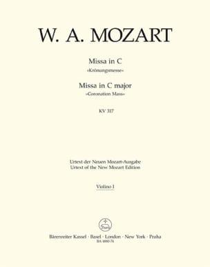 MOZART - Missa C-Dur KV 317 Krönungsmesse - Partition - di-arezzo.fr