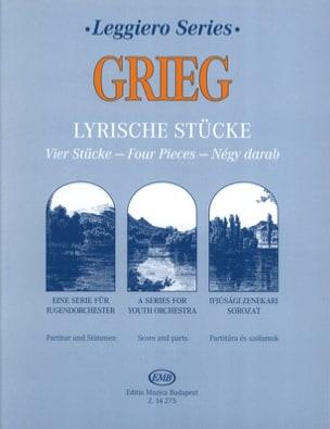 Lyrische Stücke - String orch. GRIEG Partition Sextuors - laflutedepan