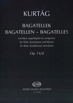 György Kurtag - Bagatelles op. 14 / D - Sheet Music - di-arezzo.com