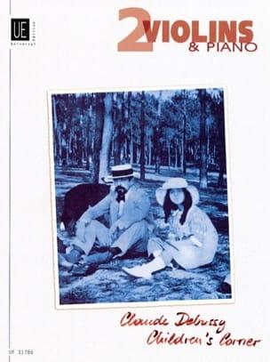 Claude Debussy - Children's Corner – 2 Violinen Klavier - Partition - di-arezzo.fr