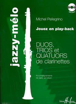 Michel Pellegrino - Jazzy-Mélo - Partition - di-arezzo.fr