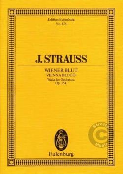 Wiener Blut, op. 354 - Johann (Fils) Strauss - laflutedepan.com