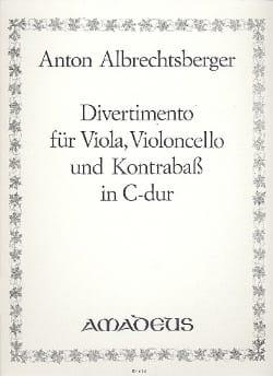 Divertimento in C-Dur -Vla Vc Kb -Stimmen - laflutedepan.com