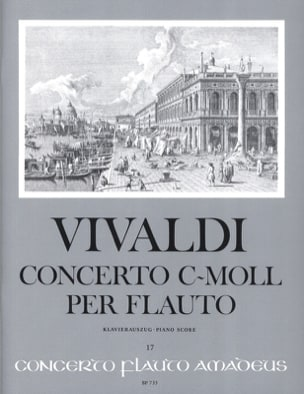 VIVALDI - Concerto c-moll per flauto - Altblockflöte Klavier - Partition - di-arezzo.fr