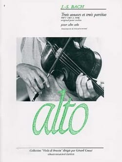 BACH - 3 Sonatas and 3 Partitas - Sheet Music - di-arezzo.co.uk