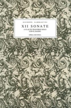 12 Sonate a flauto traversiere solo con il basso, opera seconda - laflutedepan.com