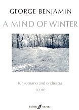 A Mind of Winter - Score George Benjamin Partition laflutedepan