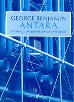 Antara - Score - George Benjamin - Partition - laflutedepan.com