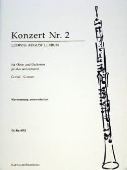 Concerto pour Hautbois N° 2 Ludwig August Lebrun laflutedepan