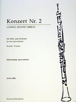 Ludwig August Lebrun - Oboe Concerto No. 2 - Sheet Music - di-arezzo.co.uk