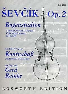 Otakar Sevcik - School of Mechanism of the Opus Bow 2 - Sheet Music - di-arezzo.co.uk