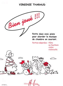 Virginie Tharaud - Bien joué ! Petits duos - Partition - di-arezzo.fr