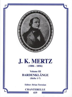 Guitar works - Volume 3 : Bardenklange Hefte 1-7 laflutedepan