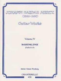 Guitar works - Volume 4 : Bardenklange Hefte 8-15 laflutedepan
