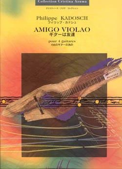 Amigo Violao - Philippe Kadosch - Partition - laflutedepan.com