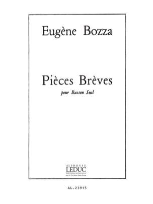 Eugène Bozza - Pièces brèves - Partition - di-arezzo.fr