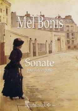 Mel Bonis - Sonate - Piano flute - Partition - di-arezzo.co.uk