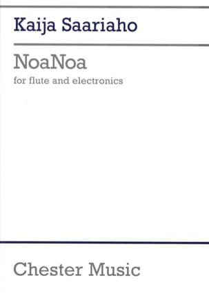 Noanoa - Flute Solo And Electronics Score Kaija Saariaho laflutedepan