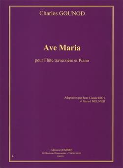 Gounod Charles / Bach Johann Sebastian - Ave Maria - Flûte piano - Partition - di-arezzo.fr