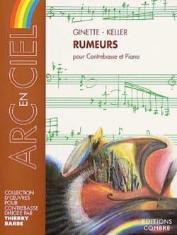 Ginette Keller - Rumeurs - Partition - di-arezzo.fr