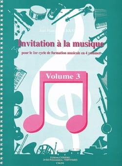 Invitation à la Musique - Volume 3 - laflutedepan.com