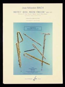 BACH - Motet Jesu, meine Freude BWV 227 - Partition - di-arezzo.fr