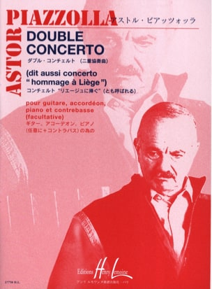 Astor Piazzolla - Double Concerto – guit. accord. piano contrb. - Partition - di-arezzo.fr