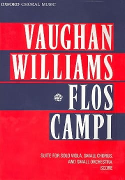 Williams Ralph Vaughan - Flos Campi – Score - Partition - di-arezzo.fr