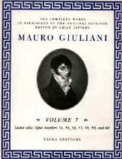 The Complete works for guitar - Volume 7 Mauro Giuliani laflutedepan