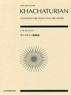 Aram Khatchaturian - Concerto pour violon - Partition - di-arezzo.fr