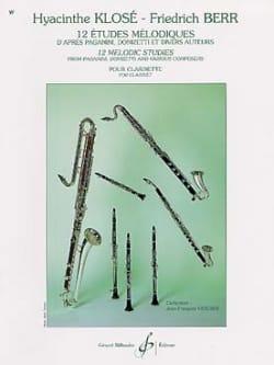 Klosé Hyacinthe / Berr Friedrich - 12 estudios melódicos - Partitura - di-arezzo.es