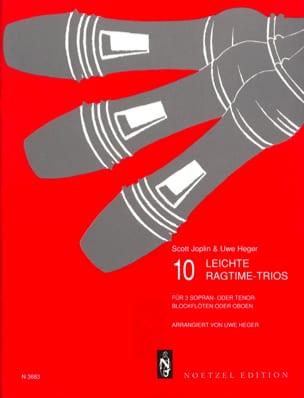 Joplin Scott / Heger Uwe - 10 Leichte Ragtime-Trios - Blockflöten o. oben - Sheet Music - di-arezzo.co.uk