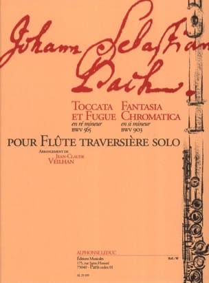 Bach Johann Sebastian / Veilhan Jean-Claude - Toccata et fugue en ré min. BWV 565 / Fantasia chromatica en si min. BWV 903 - Partition - di-arezzo.fr