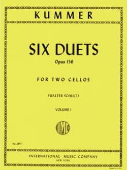 6 Duos Op. 156, Volume 1 Friedrich-August Kummer laflutedepan