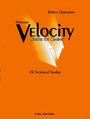Kalmen Opperman - Virtuoso velocity studies for clarinet - Sheet Music - di-arezzo.co.uk