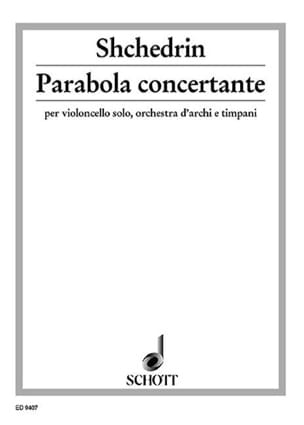 Parabola concertante - Rodion Shchedrin - Partition - laflutedepan.com