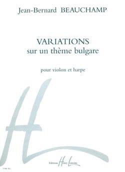 Jean-Bernard Beauchamp - Variations sur un thème bulgare - Partition - di-arezzo.fr