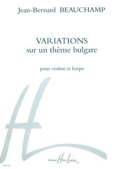 Variations sur un thème bulgare Jean-Bernard Beauchamp laflutedepan
