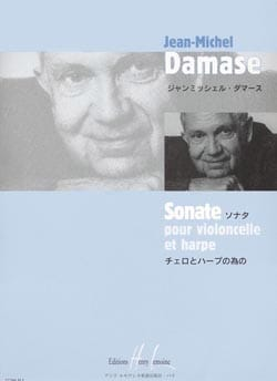 Jean-Michel Damase - Sonate - Cello et harpe - Partition - di-arezzo.fr
