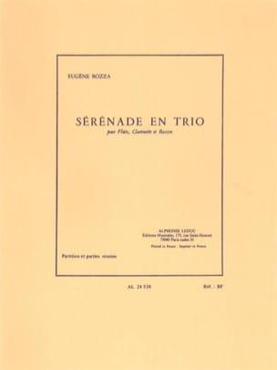 Eugène Bozza - Serenade in trio - Sheet Music - di-arezzo.com
